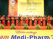 Inauguran Exposición Internacional de Productos Farmacéuticos en Ciudad Ho Chi Minh