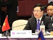 Participa Vietnam en la XII Reunión Ministerial de Mekong en Tailandia