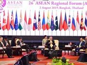 Inauguran en Tailandia el XXVI Foro Regional de la ASEAN