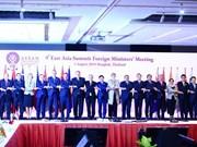 Sesiona IX Reunión de Cancilleres de Asia Oriental en Bangkok