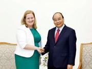 Aboga premier de Vietnam por impulso de intercambio comercial con Irlanda