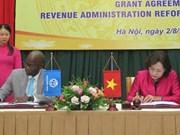 Ayudan Banco Mundial y Japón a Vietnam en gestión tributaria