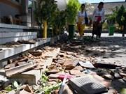 Provoca terremoto al menos una muerta en Indonesia
