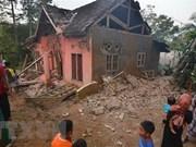 Terremoto de magnitud 6,9 deja cinco muertos en Indonesia