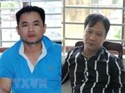 Capturan en Vietnam dos narcotraficantes que transportaban drogas desde Camboya