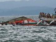 Reportan en Filipinas  decenas de muertos por naufragio