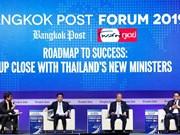 Priorizará Tailandia reformas tributarias y financiamiento de construcción infraestructural