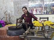 Seda y brocado, tesoro preservado y desarrollado en Vietnam