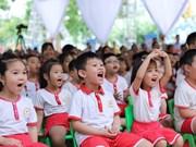 Continuarán en Hanoi programa de leche escolar en año académico 2019-2020