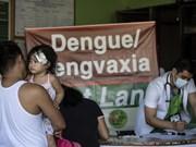 Prohíben en Filipinas vacunación pese a brote de dengue