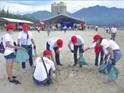 Participan más de 800 voluntarios vietnamitas en programa medioambiental