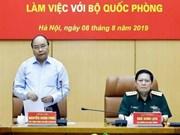 Premier de Vietnam elogia uso del terreno con fines de defensa para producción