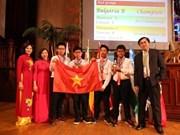 Vietnam entre los cinco mejores en Competencia Internacional de Matemáticas 2019