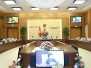 Comité Permanente de Parlamento vietnamita estudiará diferentes proyectos de leyes