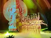 Efectúan en Hanoi programa artístico en ocasión de ceremonia budista Vu Lan
