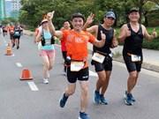 Nueve mil corredores participan en Maratón Internacional Da Nang 2019