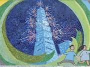 Presentan en Mural Cerámico de Hanoi bellezas naturales y culturales de Taiwán