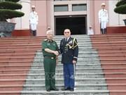 Recibe viceministro vietnamita de Defensa a agregado militar de Estados Unidos