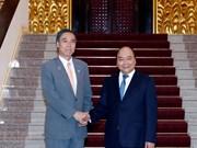 Recibe premier vietnamita al gobernador de prefectura japonesa de Nagano