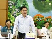 Reitera ministro de Transporte importancia de la construcción de autopista Norte-Sur de Vietnam