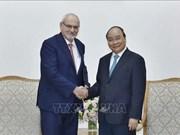 Dirigentes vietnamitas reciben a ejecutivo de Corporación Financiera Internacional