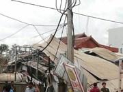 Decenas de personas heridas por explosión de un camión cisterna de gas en Camboya