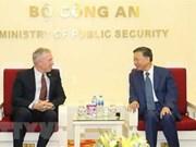 Recibe ministro de Seguridad Pública de Vietnam a representante de Google