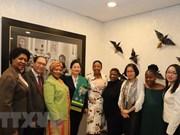Impulsan Vietnam y Sudáfrica cooperación a favor del empoderamiento de la mujer