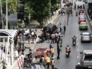 Capturan a sospechosos autores de atentados con bombas en Bangkok