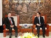 Comparten Vietnam y Laos experiencias en gestión de asuntos religiosos