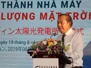 Inauguran planta fotovoltaica japonesa en provincia central de Vietnam