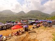 Los Días de Mercado Can Cau, cultura original de una minoría étnica en Lao Cai