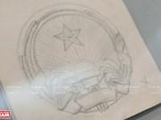 Bocetos del escudo nacional de Vietnam
