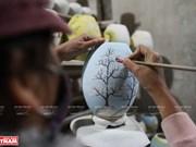 Lámparas de cerámicas Bat Trang