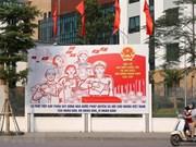 Hanoi saluda las elecciones legislativas con pancartas y banderas