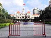 Aplican distanciamiento social en Ciudad Ho Chi Minh