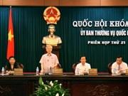 Ejecutivo parlamentario analiza asuntos nacionales