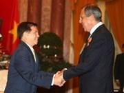 Presidente se reúne con el canciller ruso