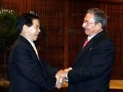 Viet Nam y Cuba ratifican hermandad