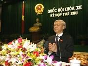 Asamblea Nacional de Viet Nam clausura sesiones