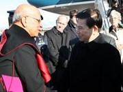 Presidente vietnamita inicia visita a Italia