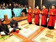 Seminario sobre canto folclórico vietnamita