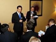 Premier vietnamita en Foro Económico Mundial