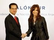 Viet Nam- Argentina: Conversaciones cumbre