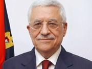 Presidente palestino inicia visita a Viet Nam