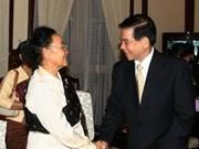Destacan relaciones Viet Nam- Laos