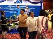 Banco vietnamita abre filial en Laos