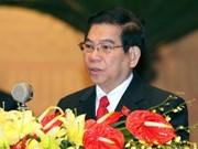 Presidente destaca importancia de congreso del PCV