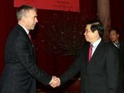 Presidente vietnamita recibe a ejecutivo de Shell