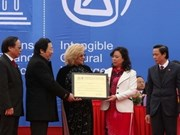 Viet Nam recibe certificado del Fiesta Giong de UNESCO